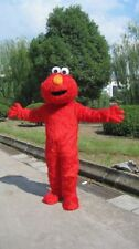 Hot Sesame Street Red Elmo Monster mascot costume Cartoon Fancy Dress Free Ship