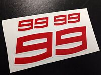 PEGATINAS 99 LORENZO MOTO GP ECO32 STICKERS AUFKLEBER VINILOS ADESIVI AUTOCOLLAN