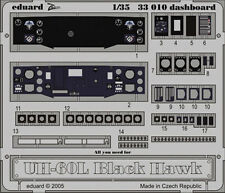 EDUARD 1/35 PHOTO-ETCHED PRE-PAINTED DASHBOARD for ACADEMY UH-60L BLACK HAWK