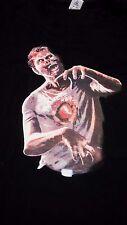 New Digital Dudz Beating Heart Interactive Zombie Shirt XL - Halloween Costume