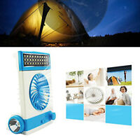 PORTABLE RECHARGEABLE SOLAR AC CHARGED EMERGENCY CAMPING TENT FAN LIGHT LANTERN  sc 1 st  eBay : rechargeable tent fan - memphite.com