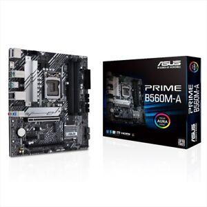 ASUS PRIME B560M-A LGA 1200 DDR4 128GB SATA 6Gb/s Micro ATX Intel Motherboard