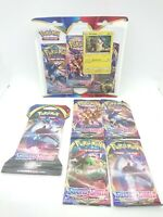 Pokemon TCG Sword And Shield Booster Trading Card Game value Blister Lot 8 pack