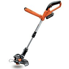 """Worx 10"""" Li-ion Cordless Grass Lawn String Powerful Trimmer Edger 20V Weed Eater"""