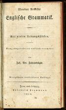 1823 -  Theodor Arnolds Englische Grammatik..