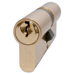 YALE Door Lock Cylinder Euro Profile 6 Pin Barrel for uPVC Aluminium Timber PVC