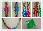 4x Foil Garland Ceiling Christmas Tree Xmas Party Decorations 2.7M x 20cm