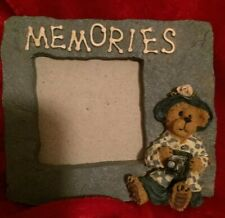 Boyds Bears Memories Picture Frame Almost 3 X 3