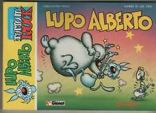 silver LUPO ALBERTO n.25 glenat  1987 originale GENESIS