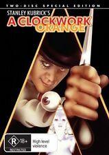 A Clockwork Orange (DVD, 2-Disc) Like new, Region -4, free post within Australia