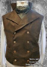 "The Best Steampunk Victorian Waistcoat / Vest SEWING PATTERN sizes 36-44"""