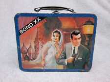 1969 BOND XX with SECRET AGENT  LUNCHBOX Ohio Art   Rarity#8  Condition#7.5