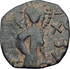 1146AD ARAB BYZANTINE Zangid Atabegs JESUS CHRIST Ancient ISLAMIC Coin i64842