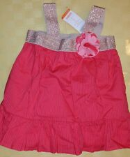 Girl's Gymboree NWT ADORABLE Size 4 Coral Blouse w/Gold Accent
