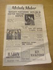 MELODY MAKER 1953 DECEMBER 26 MUSICIANS UNION EDMUNDO ROS BING CROSBY MECCA < +