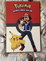 Pokemon Go Sign Nintendo Anime Room Decor Pikachu Gotta Catch 'em All Nintendo