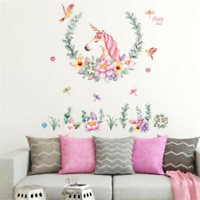 A-Level 60 * 90CM Caballo Unicornio Etiqueta de la pared Animal Sticker HomeCS