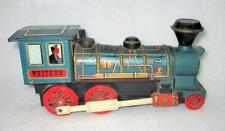 Vintage Old Collectible WESTERN Train Engine Modern Toy Trade mark Company Japan