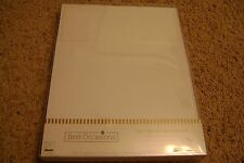 NEW Best Occasions 100 Trifold Wedding Programs Keeping With Tradition White