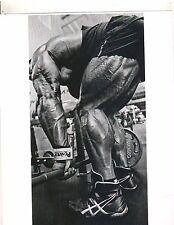 bodybuilder Evan Centopani Hamstring Photo Best Legs Muscle Photo B&W