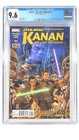 Star Wars Kanan The Last Padawan #1 CGC 9.6 NM+ 2015 Marvel Comics A
