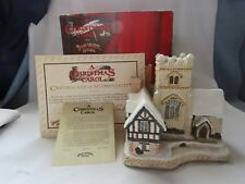 David Winter Cottage ( A Christmas Carol ) Special For Christmas 1989
