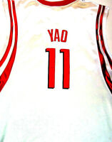 Reebok NBA Yao Ming Houston Rockets Men's Basketball Stitched Jersey Size 52