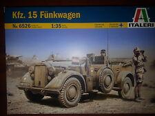 Kfz. 15 Fünkwagen ITALERI 1/35 PLASTIC KIT