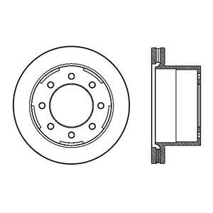Rr Premium Brake Rotor Centric Parts 120.66075