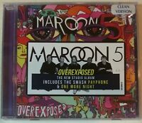 """OVEREXPOSED [Edited] by MAROON 5 (CD, 2012 - USA - Octone) BRAND NEW, """"SEALED"""""""