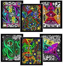Cosmic 6-Pack of 8x10 Velvet Posters