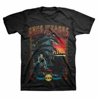 Guns N Roses Surf Water Undead Skeleton Music Classic Rock Mens Shirt 12160028