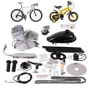 2 temps Vélo Motorisé Essence Moteur Moteurs 80cc à Gaz Bike Engine Motor Kit
