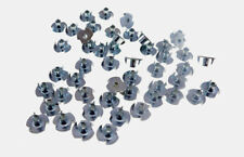 "50 Pack 10-24 T-nuts 5/16"" Barrel Zinc Plate 1/4"" Hole 3#10C005"