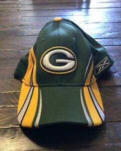 Green Bay Packers NFL Reebok Sideline Color Block Hat Cap