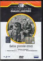 Dvd Sceneggiati Rai SETTE PICCOLE CROCI di Cottafavi con G.Santuccio nuovo 1957