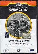 Dvd Serie del drama Rai SIETE PEQUEÑAS CRUCES de Cottafavi con G. Santuccio 1957