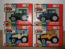 BRITAINS VERY RARE set 4wd model VALMET 805 farm tractor toys 4 colours