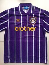 Vintage Manchester City XL Umbro Brother Football Shirt Brand New Without Tags