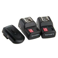 PT-16GY 16 Wireless Channels Flash Trigger Radio 2 Receivers For Nikon Canon