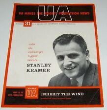 Stanley Kramer Vintage Announcements Inherit the Wind promo mini poster