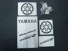 CUSTOM 06-12 YAMAHA RAPTOR 700 R 700R FENDER WARNING TAGS PLATES BADGES NEW!