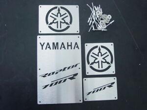CUSTOM 06-12 YAMAHA RAPTOR 700 R 700R FENDER WARNING TAGS PLATES BADGES NEW!