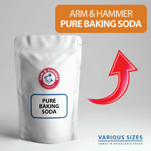 Baking Soda ARM & HAMMER AKA Bicarbonate of Soda, Sodium Bicarbonate FOOD GRADE