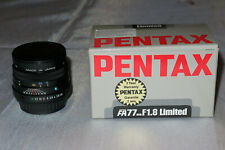 Objectif Pentax FA 77mm f/1,8 Limited - Made In Japan - TBE