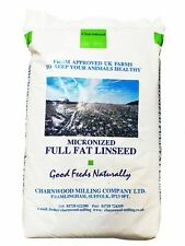 Charnwood Milling Micronised Full Fat Linseed Meal 20 Kg Enhanced Horse Feed