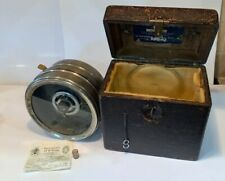 CASED PIGEON CLOCK THE AUTOMATIC TIMING CLOCK CO & Certificate 30s 40s Vintage