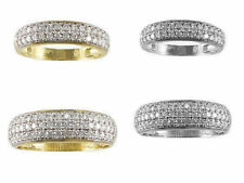 Unbranded Cubic Zirconia 10k Yellow Gold Engagement & Wedding Jewelry