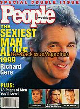 People 11/99,Richard Gere,Sexiest Man Alive,Brad Pitt,November 1999,NEW