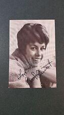 Carol Burnett-signed vintage postcard-pose 19 - coa - dual signed!